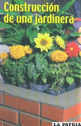 Construcci n de una jardinera aprende a decorar for Como decorar una jardinera