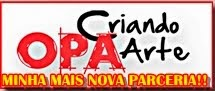 PARCERIA OPA CRIANDO ARTE, SHOW DE BOLA!