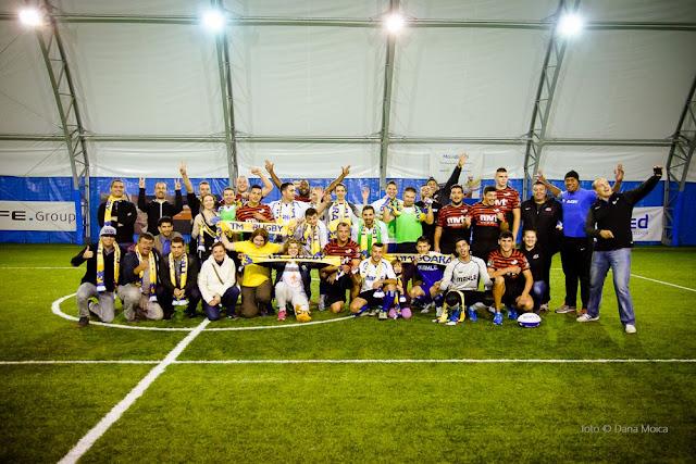Florin Chindea, maseur oficial al turneului caritabil de fotbal - Împreună susţinem Hidroterapia. 18 octombrie 2015. Timişoara. Foto grup final