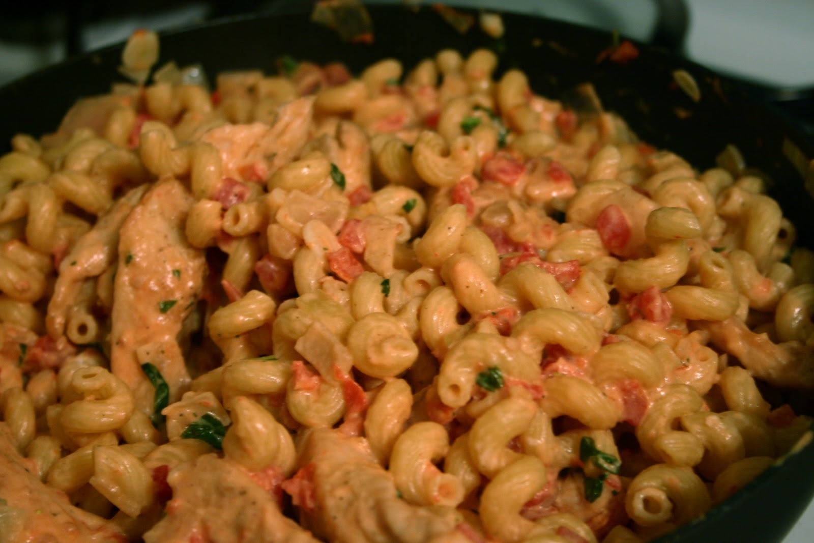 cassia kathleen: Chicken Cavatappi with Lemon and Goat Cheese