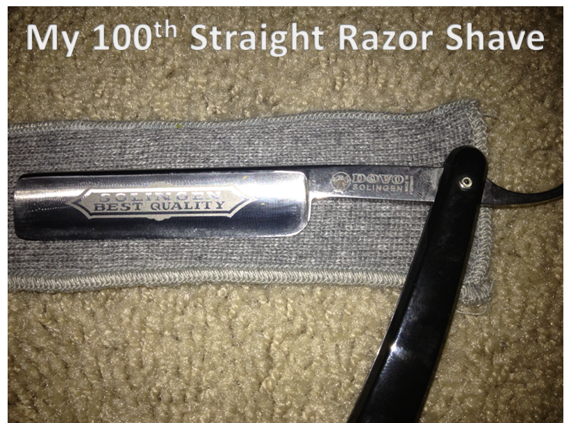 how to clean shave straight razor