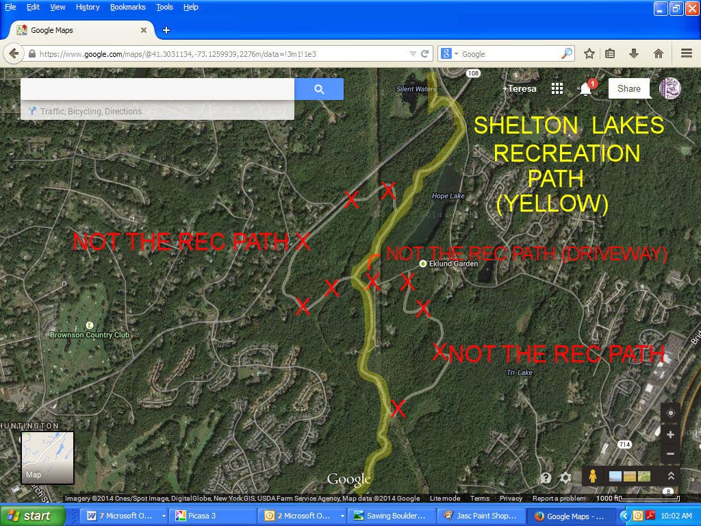 how to add trails to google maps