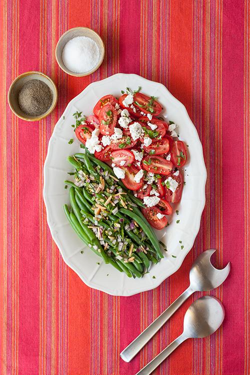 Green Bean, Tomato and Feta Salad