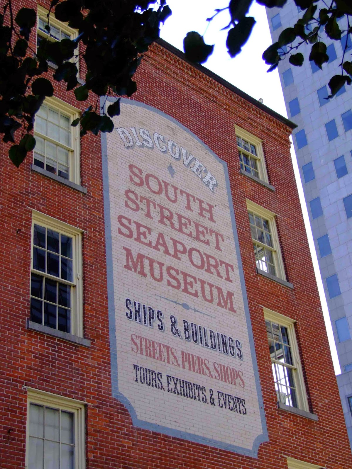 The South Street Seaport Museum