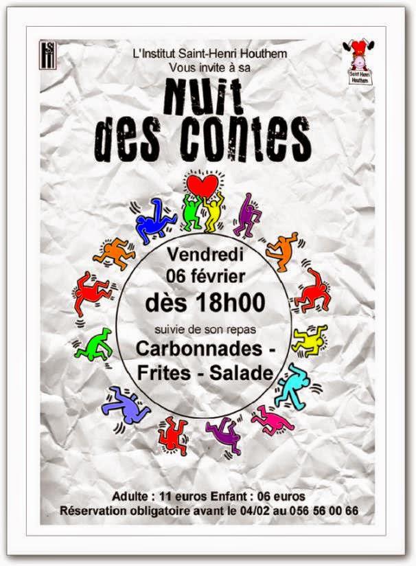 6 février Houthem nuit des Contes.