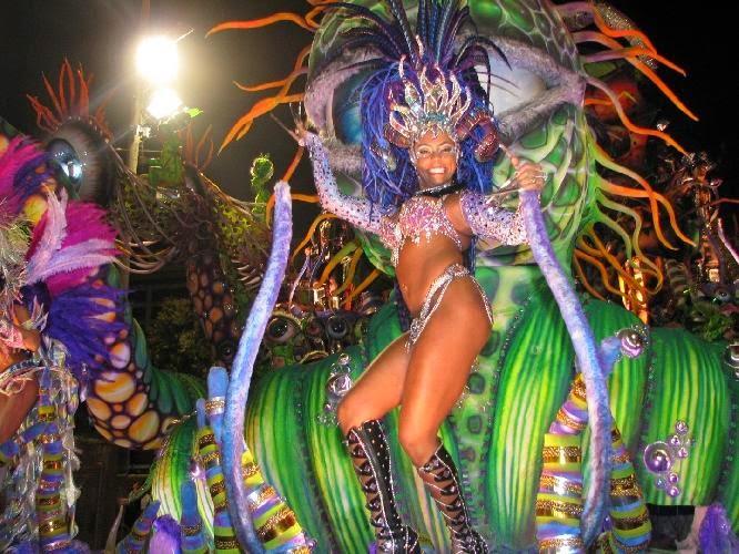 Carnaval de Río de Janeiro. Los mejores carnavales del mundo