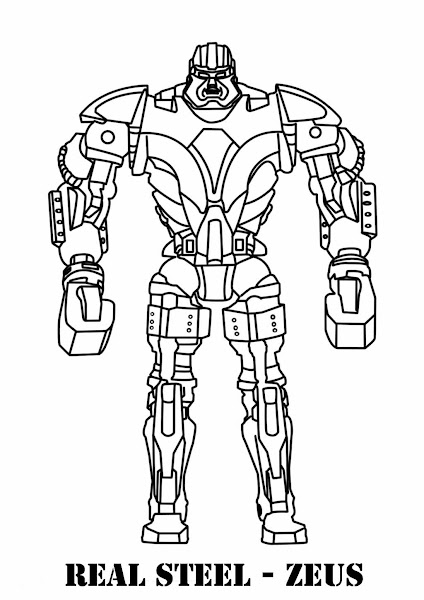 Printable Coloring Pages Of Robots  U2013 Colorings Net