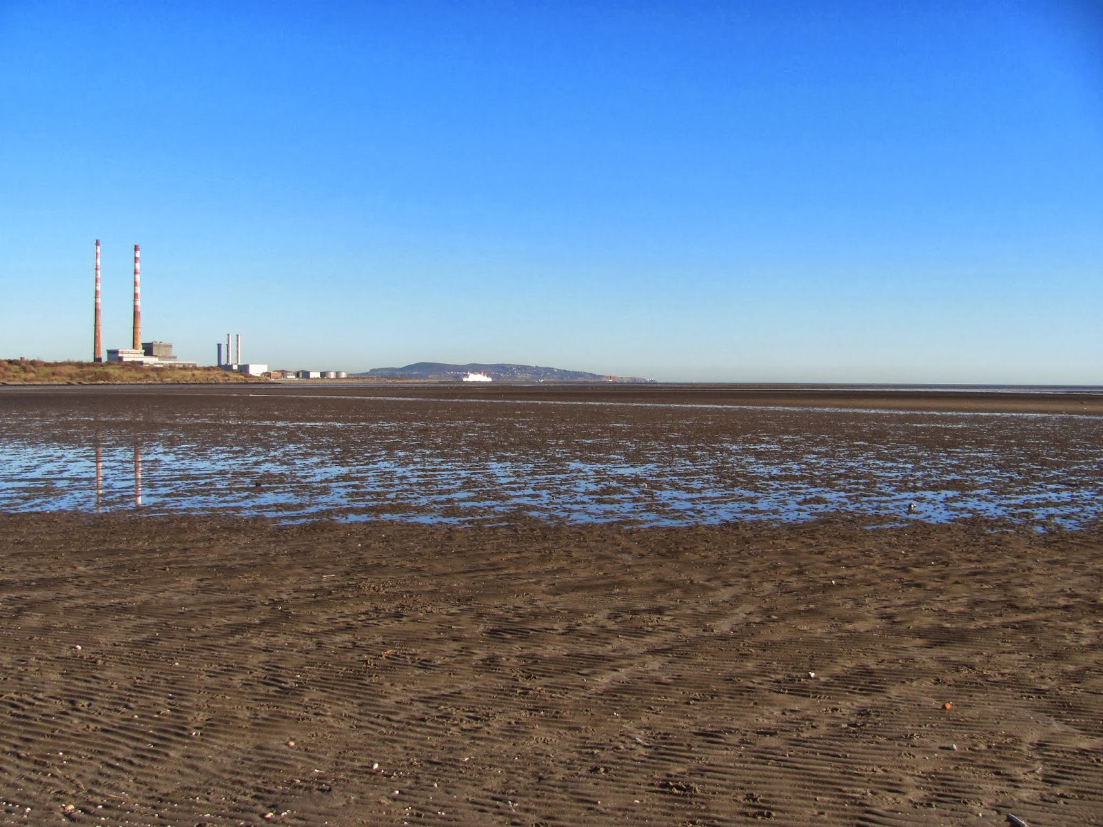 Sandymount Strand at low tide