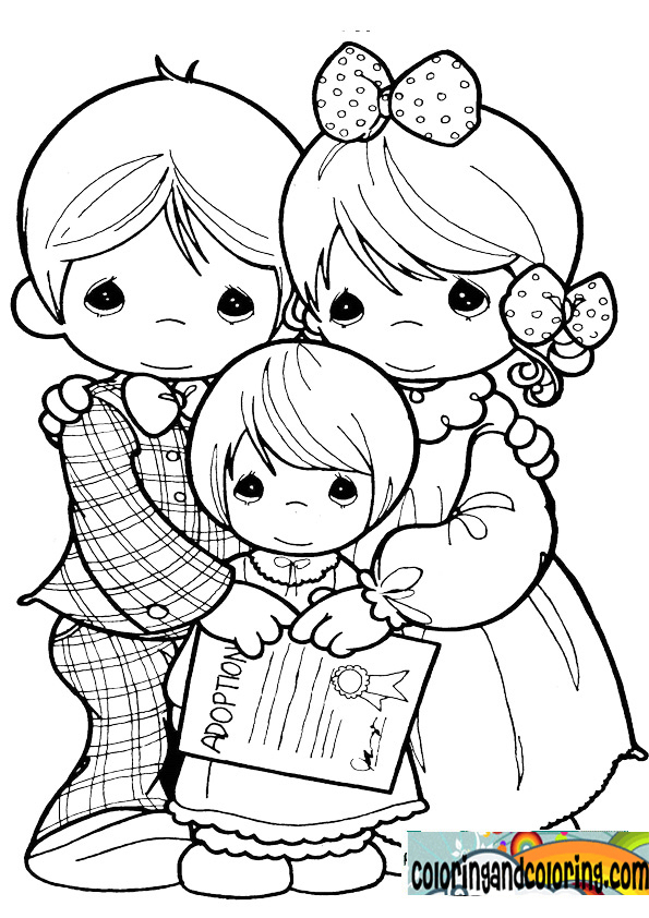 cowboy precious moments coloring pages photo13