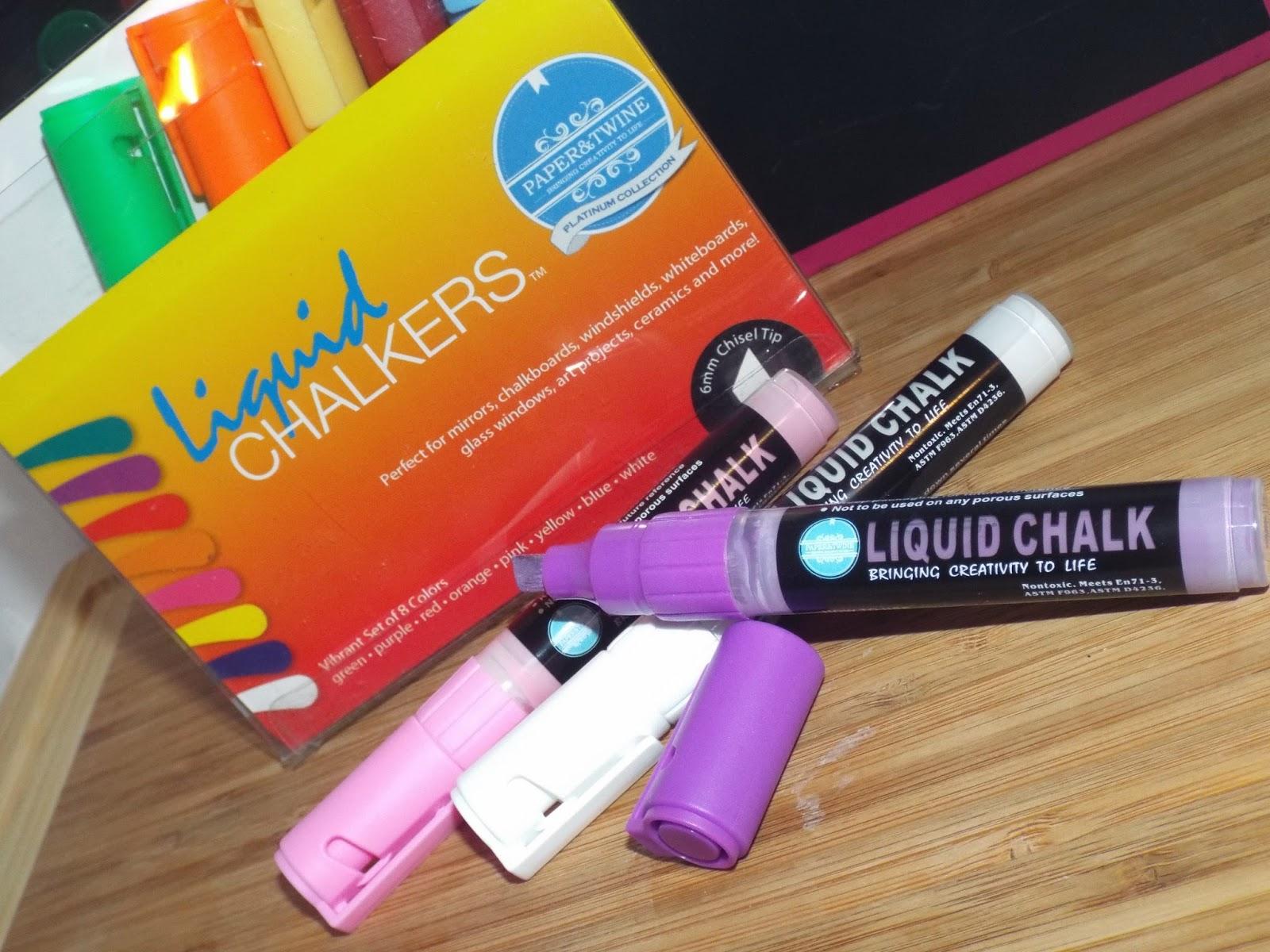 Paper & Twine: Liquid Chalk