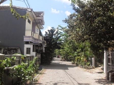 Salah satu block lainnya di Graha Sunan Ampel 1 Wiyung