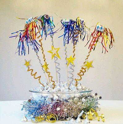 Decoraci n de fiestas de a o nuevo centros for Decoracion 31 de diciembre