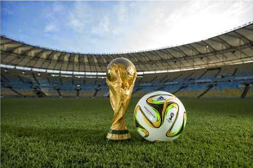 Adidas released Brazuca ball for the World Cup finals in 2014 in Rio, Brazil