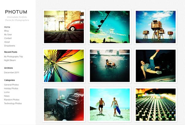 fresh free wordpress themes+%252811%2529 2012 En Güzel Bedava WordPress Temaları indir