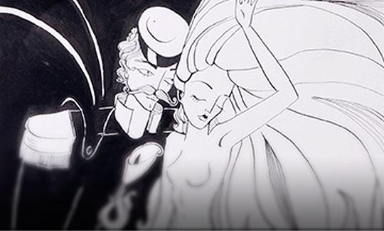 Ilustración, La guerra y la paz de Paula Acero