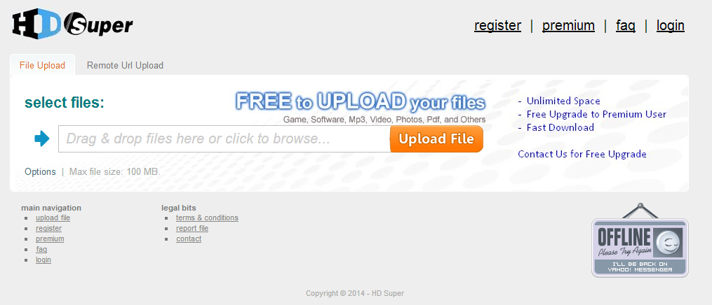Upload File Gratis Unlimited