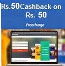 Mobile, Data card & DTH Recharge Rs.20 cashback on Rs.100 on Freecharge App (Can be used multiple times)