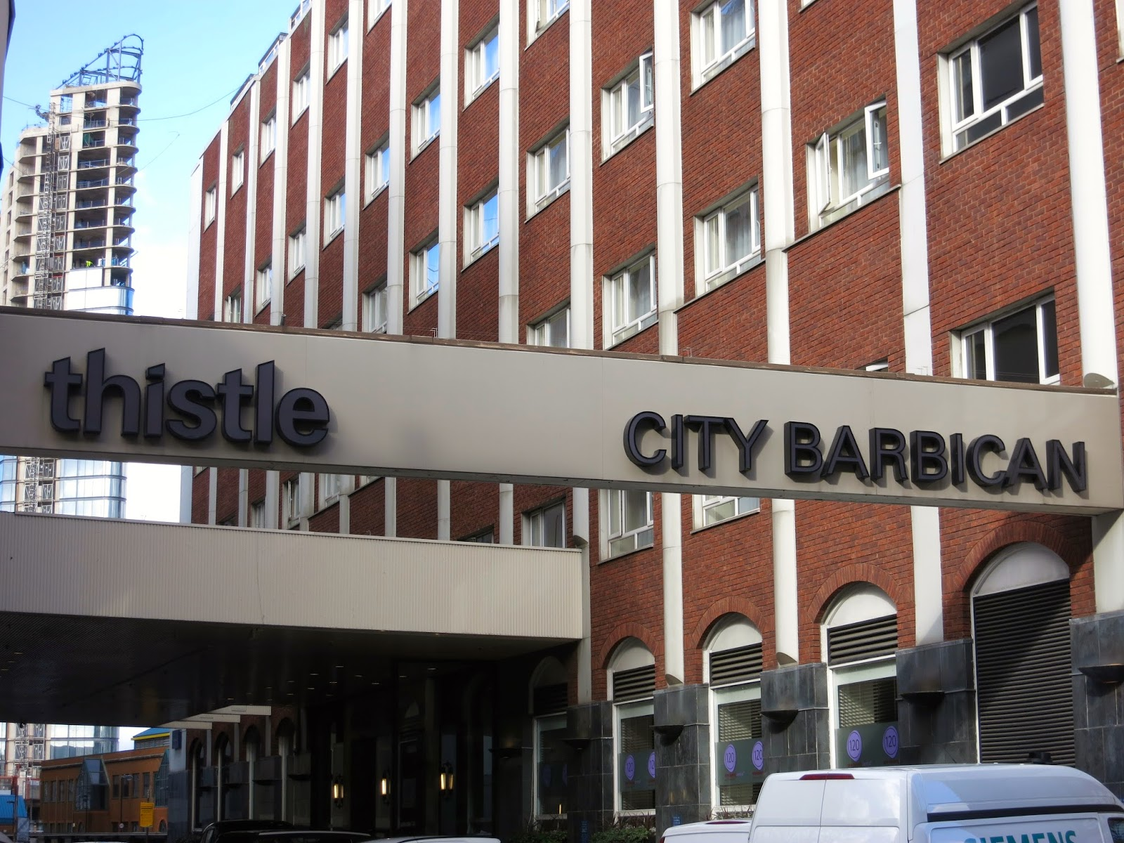 thistle hotel barbican