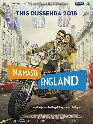 Namaste England 2018 Bollywood 300MB pDVDRIp 480p