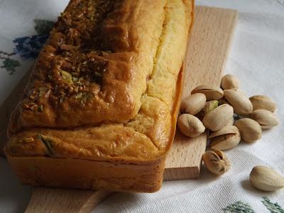 cake o mini cake con salmone e pistacchi