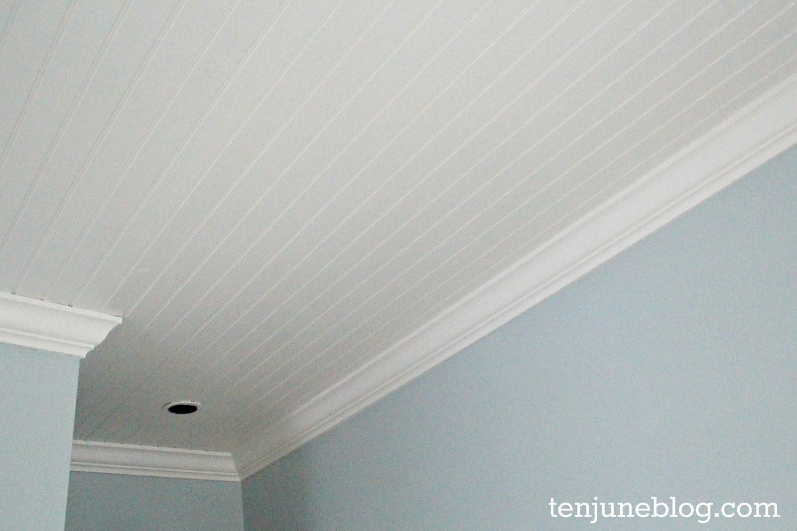 ceiling white paintTen June Nursery Update A Freshly Painted Baby Boys Room