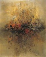 Картина Чжао Уцзи Et la terre était sans forme