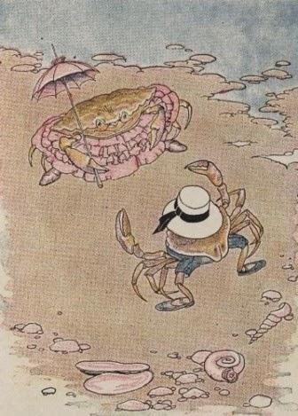 """Cerita Fabel: """"Kepiting Muda dan Ibunya"""""""