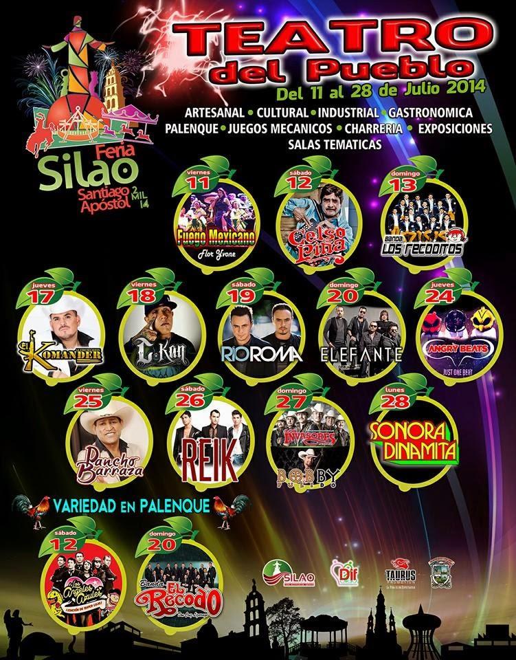 Feria Silao 2014 Teatro del pueblo