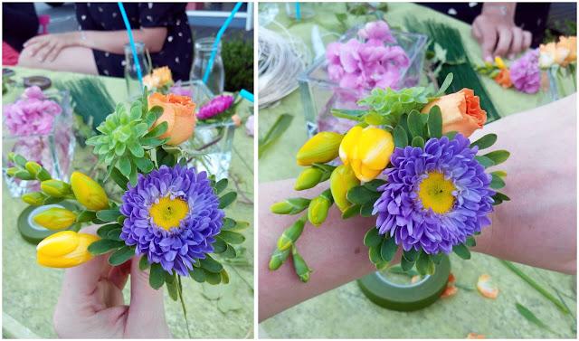 craftnight, DIY,fleur, anouk autier, bullelodie