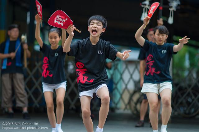 阿波踊り連たまき 小金井プレ阿波おどり 2015
