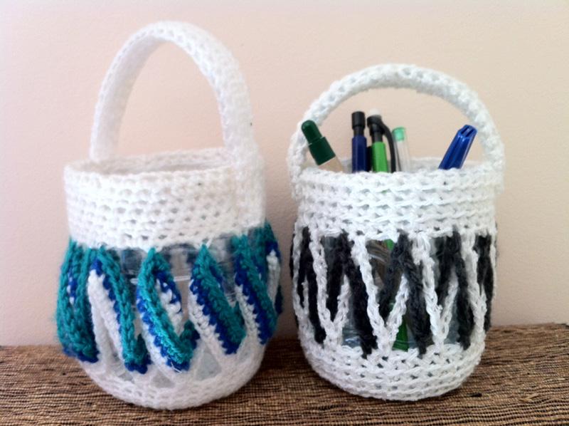panier r cup 39 au crochet tuto bocaline. Black Bedroom Furniture Sets. Home Design Ideas