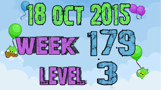 Angry Birds Friends Tournament level 3 Week 179