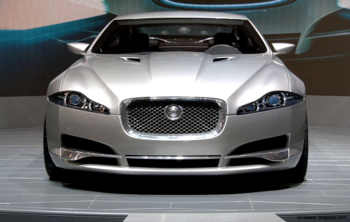 Jaguar Xj Front View Car Hd View Wallpapers