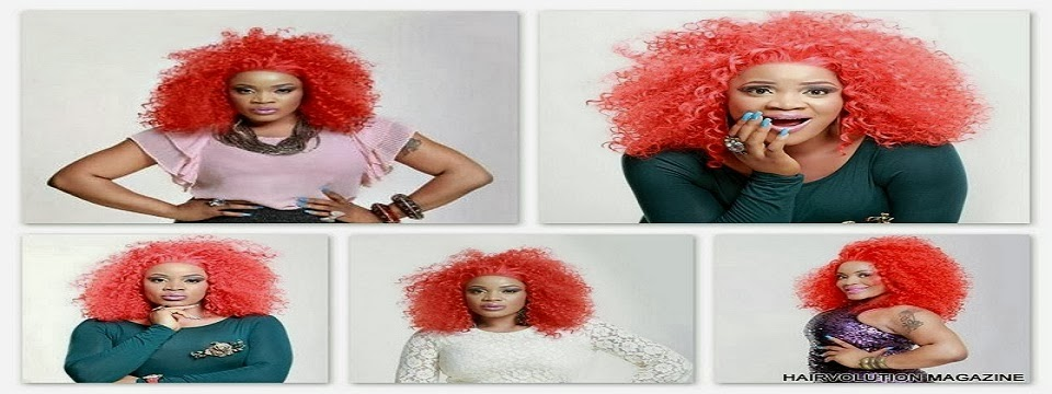 UCHE OBODO'S RED HAIR PHOTO SHOOT