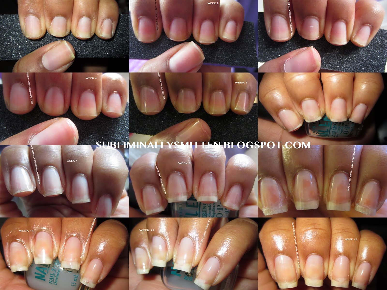 Healthy Nails The Journey Hello My Smitten S
