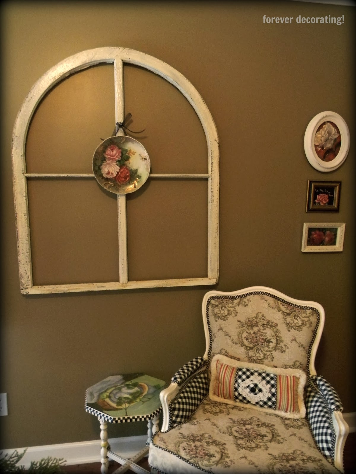 Forever decorating arch window find for Arch window decoration