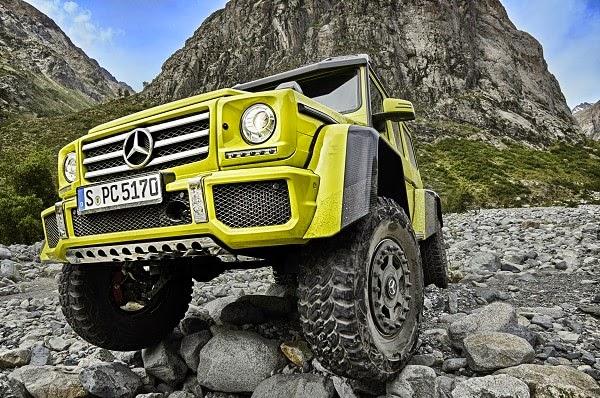 Mercedes Benz G 500 4x4²