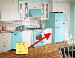 desain dekorasi dapur sempit