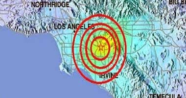 Temblores los Angeles California