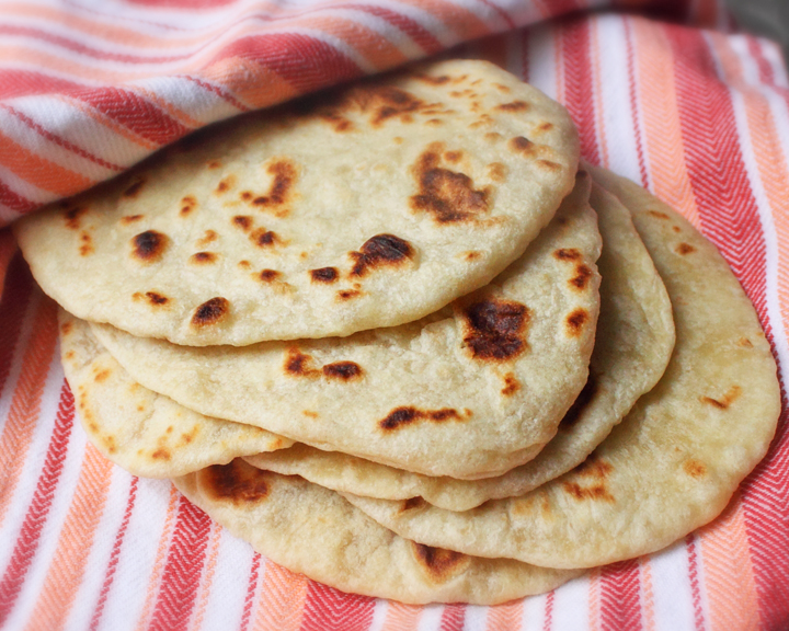 The Plucky Housewives: Amy's Tacos with homemade flour tortillas