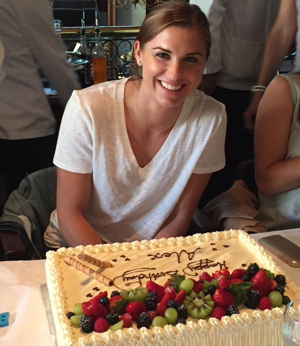 Alex Morgan's Birthday Cake
