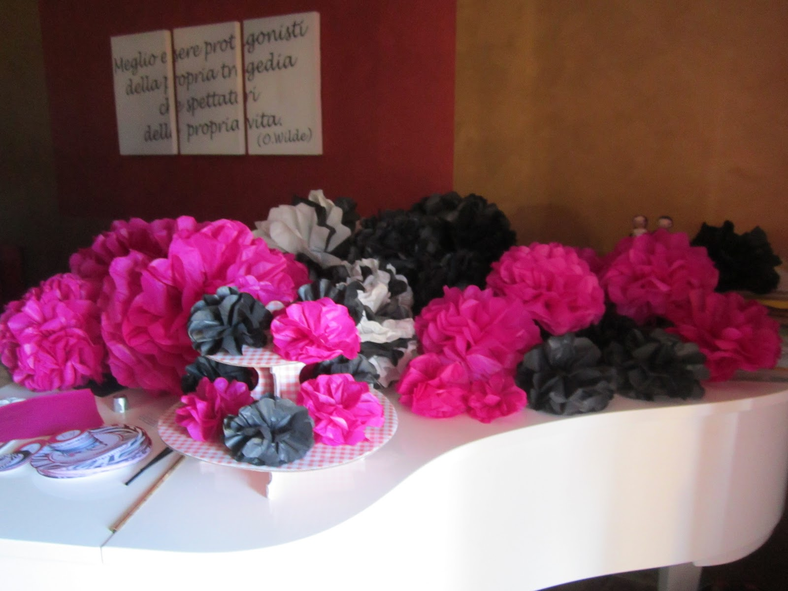 Decorazioni Sala Per 18 Anni : Pinkdesigns glamour birthday party i anni di danila ii parte
