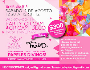 Workshop de Origami Deco & Party