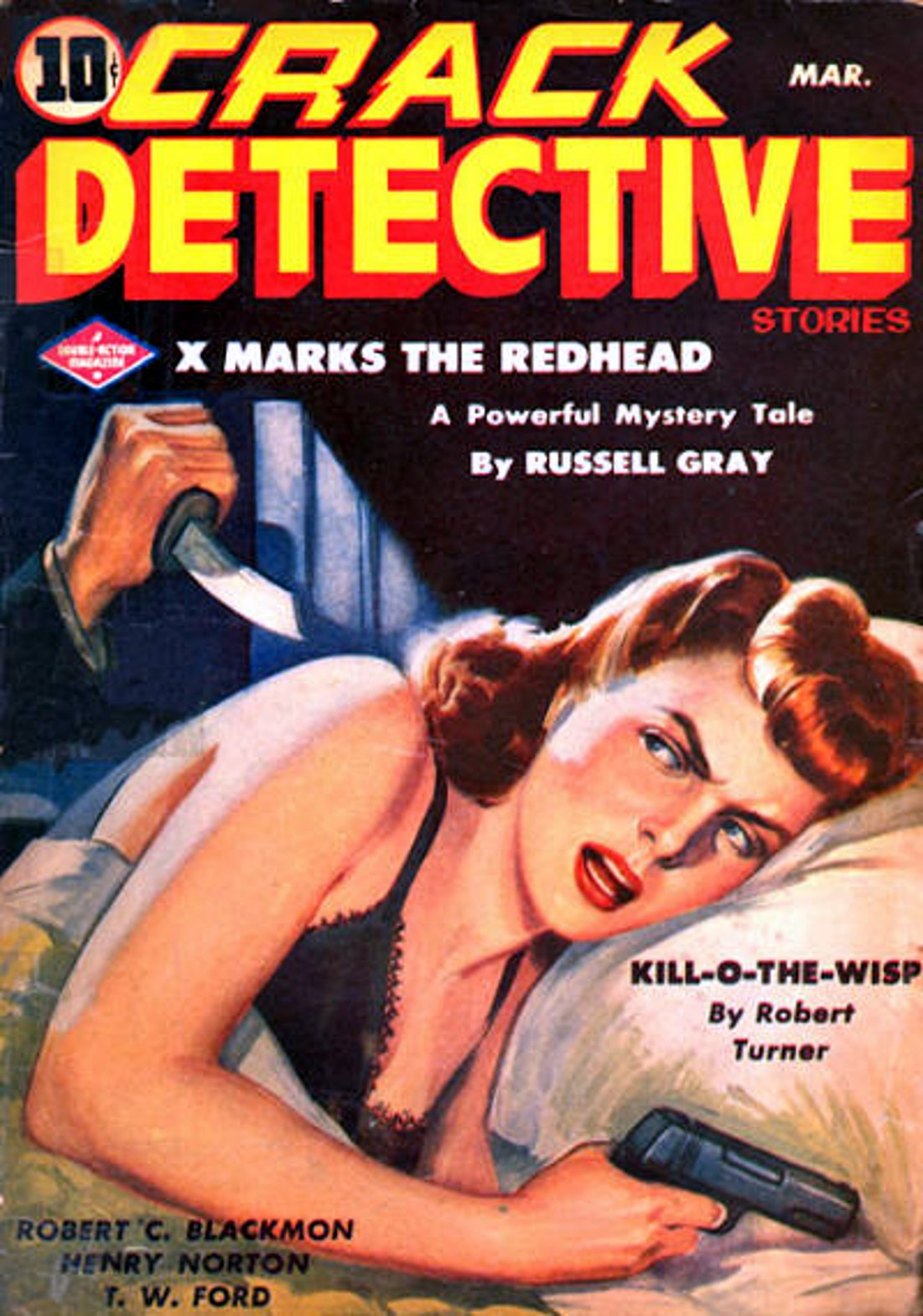 Rough Edges: Sunday Morning Bonus Pulp: Crack Detective Stories ...