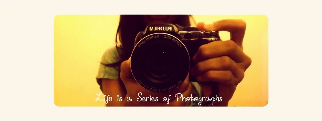 Life is a series of photographs