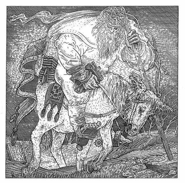 """Há um crânio """"escondido"""" nesta ilustração"""