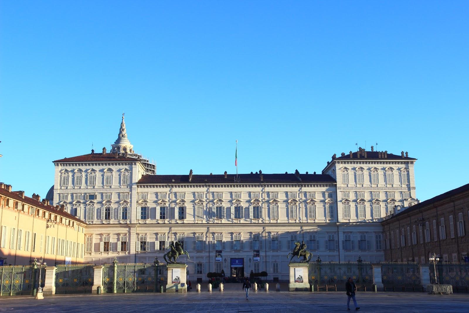 Torino Piazza Castello Palazzo Reale
