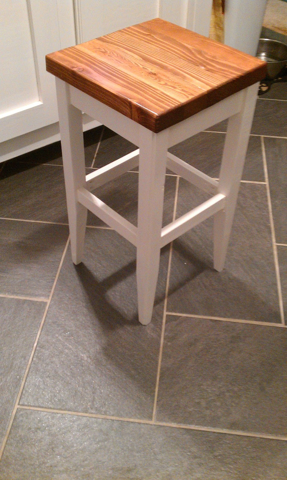 My Latest Project Is My DIY Kitchen Bar Stools