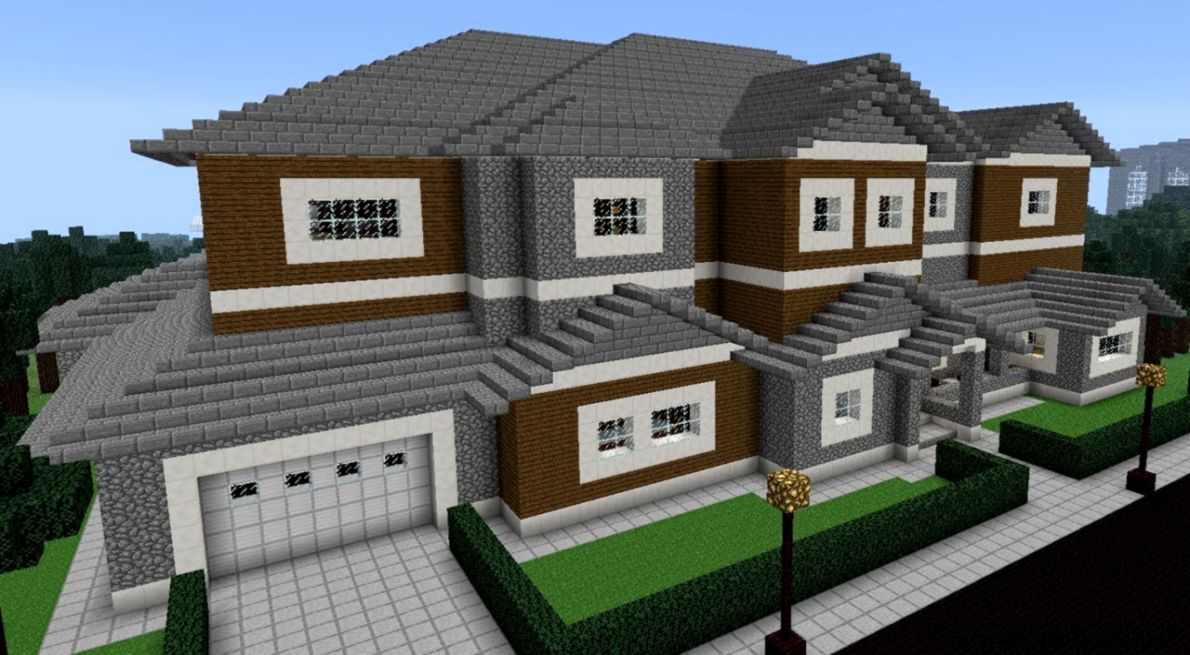 Minecraft City House Design Important Wallpapers
