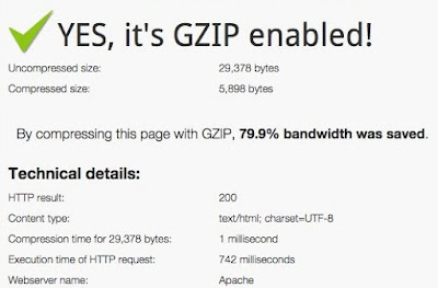 How to enable GZIP Compression on the Web Joomla